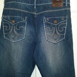 Departed Bolsa Ave. Distressed Jeans